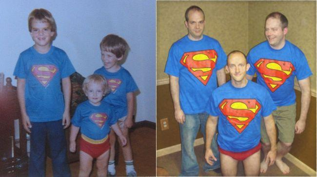 22 fotos 'antes e depois' para divertir o seu dia