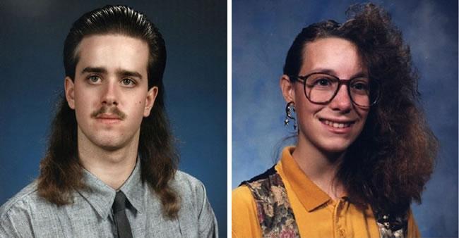 33 penteados bizarros da década de 80 para você morrer de ...