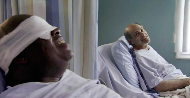Paciente conta para o amigo cego o que vê pela janela do hospital ...