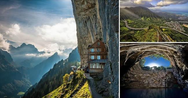 28 lugares fantásticos ao redor do mundo que nem mesmo os melhores agentes de viagem conhecem