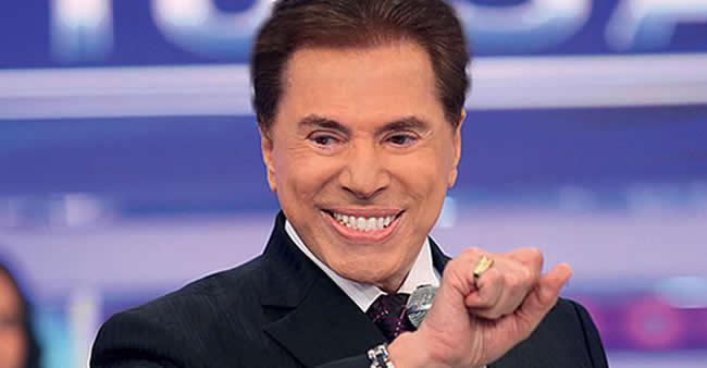 Silvio Santos não conhece limites para brincadeira e essa ...