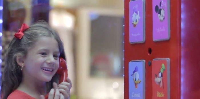 Até você iria gostar de fazer uma ligação nesse telefone da Disney