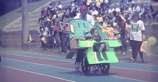 Corrida Maluca de Cadeirantes: mais diversão e menos preconceito ...