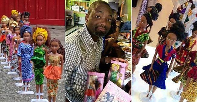 Nigeriano cria boneca negra para sobrinha e agora vende mais do ...