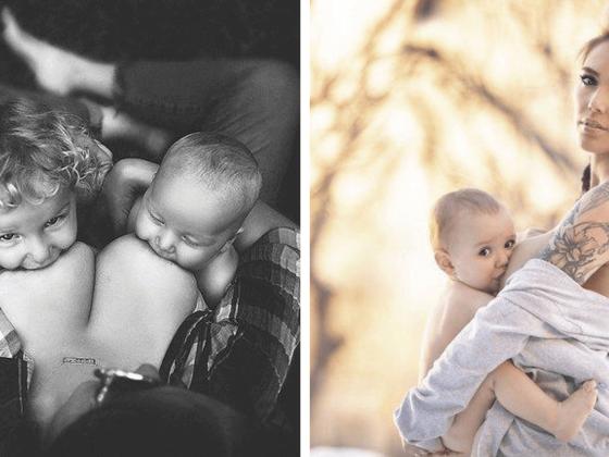 Mães fazem ensaio fotográfico e mostram de forma MAGNÍFICA que isso não é algo errado