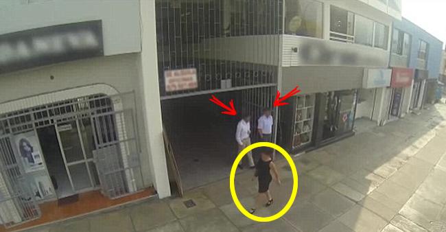 Homens assobiam para mulheres nas ruas, mas quando elas viram ...