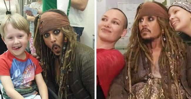 Isso é o que acontece quando os Piratas do Caribe invadem um ...