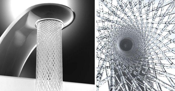 Estudante de design cria torneira incrível que economiza água com ...