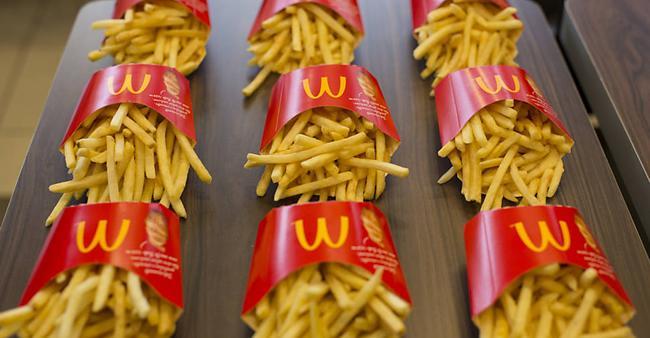Após esse vídeo, você nunca mais vai ver as batatas do McDonald's ...