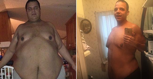 Esse homem conseguiu emagrecer mais de 170 kg e o incentivo ...