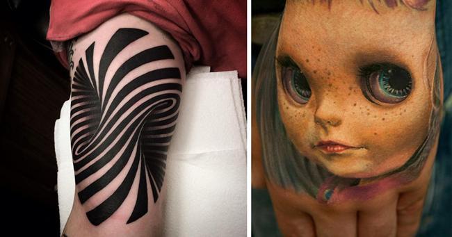 25 tatuagens em 3D que vão fazer você pirar. Confesso que a #12 ...