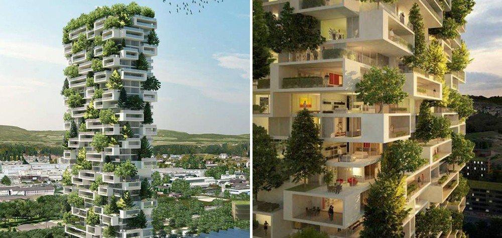 Os novos pulmões da humanidade: conheça o primeiro prédio ...