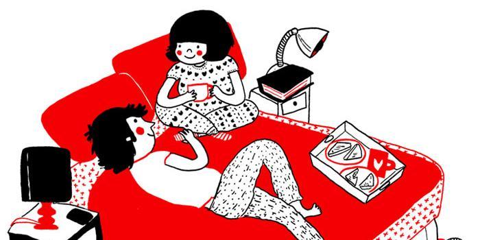 24 ilustrações mostram que o amor está nas pequenas coisas. Eu ...