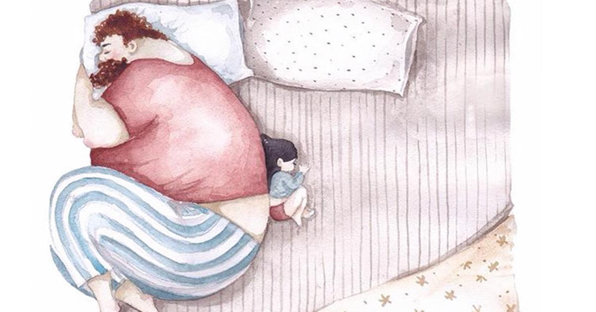 Veja o reflexo do amor de Pai para Filha em ilustrações emocionantes