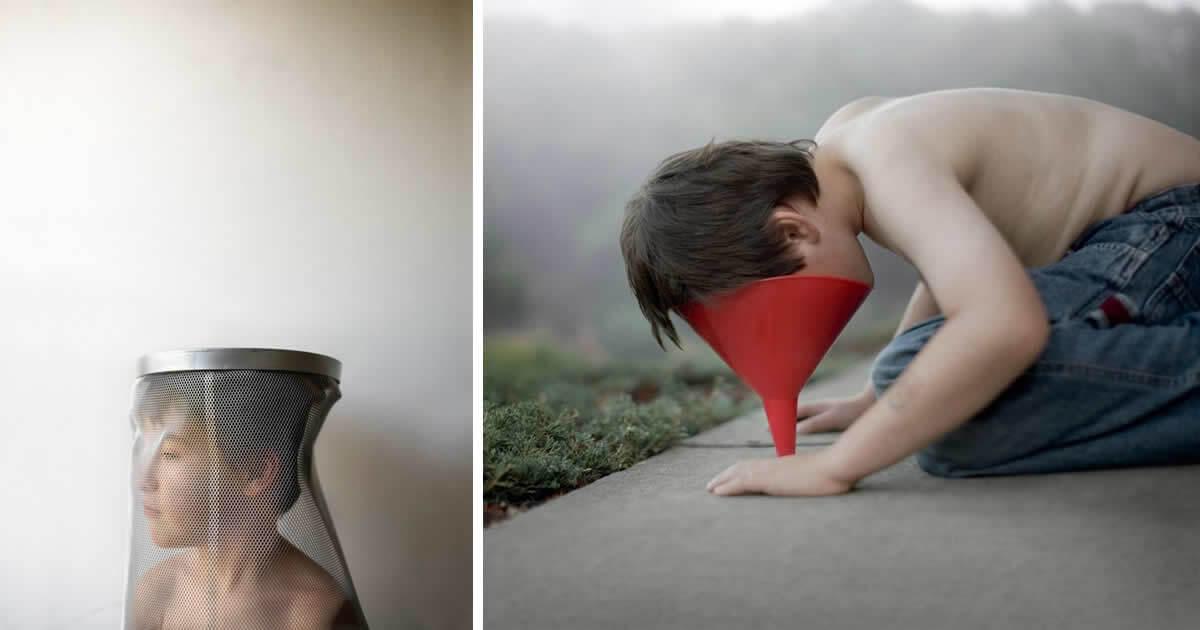 Fotógrafo faz fotos do filho autista e tem resultado IMPRESSIONANTE