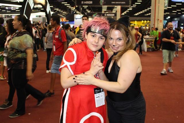 Yara e a mãe Janise