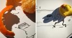 Artista transforma sombras de objetos em ilustrações incríveis (e SURREAIS)