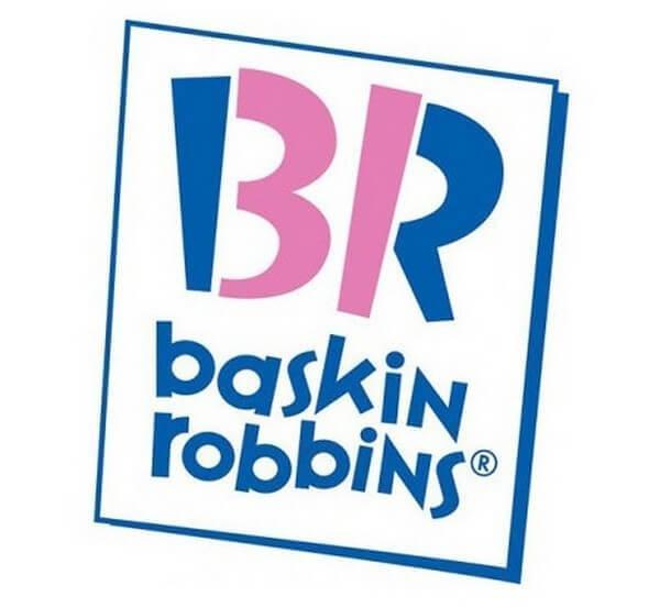 logotipo baskin robbins