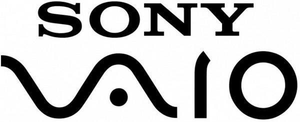 logotipo sony vaio