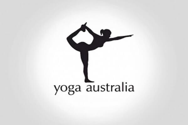 logotipo yoga australia
