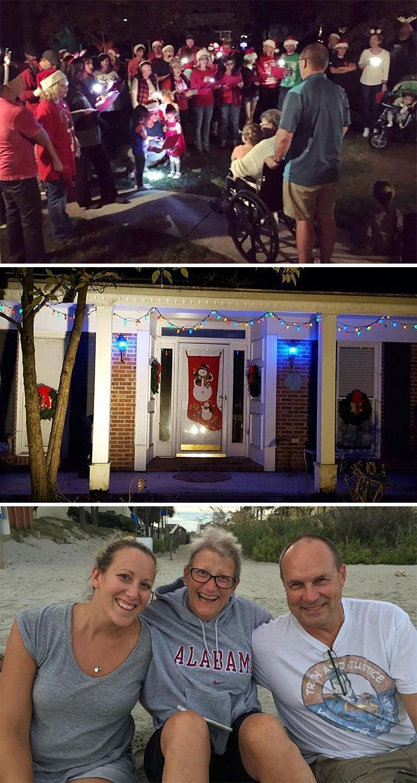 Comemoração do natal fora de época na Carolina do Norte