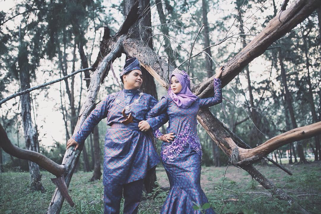 Trajes tradicionais de casamento na Malásia