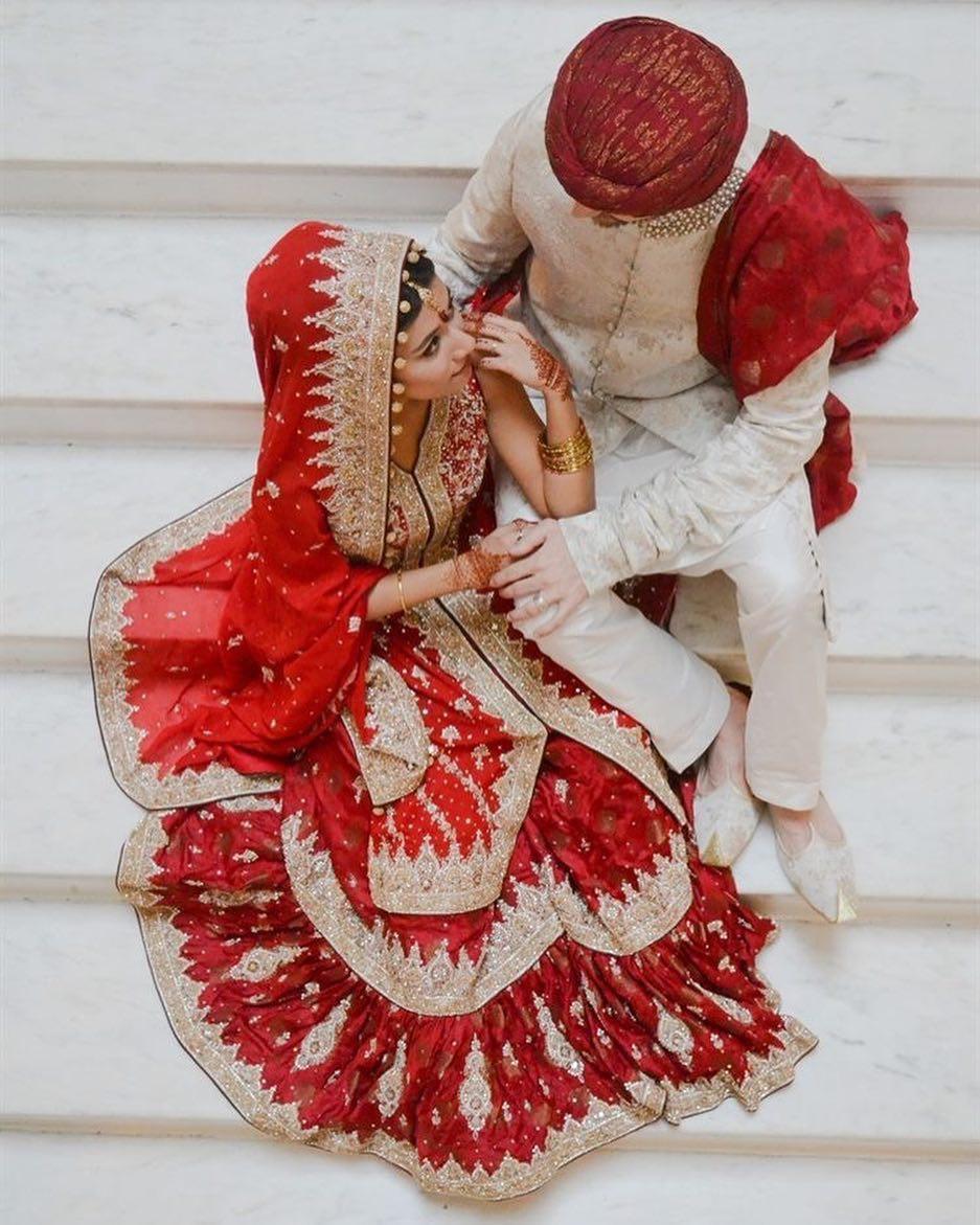 Trajes tradicionais de casamento no Paquistão
