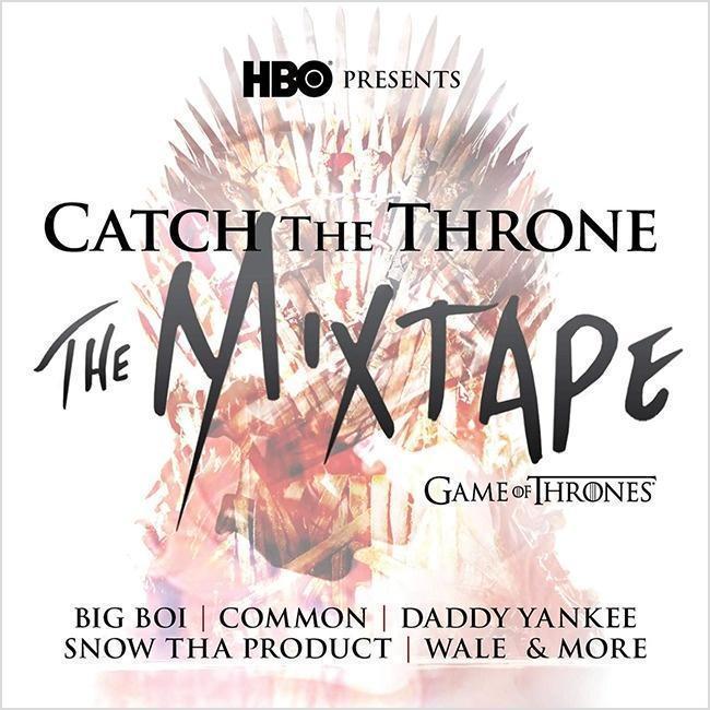 Capa da mixtape lançada pela HBO
