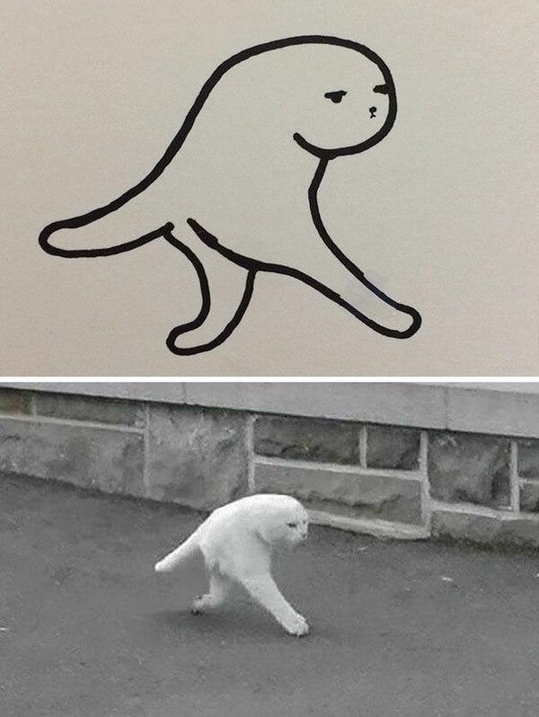 Desenhos de gatos (19)
