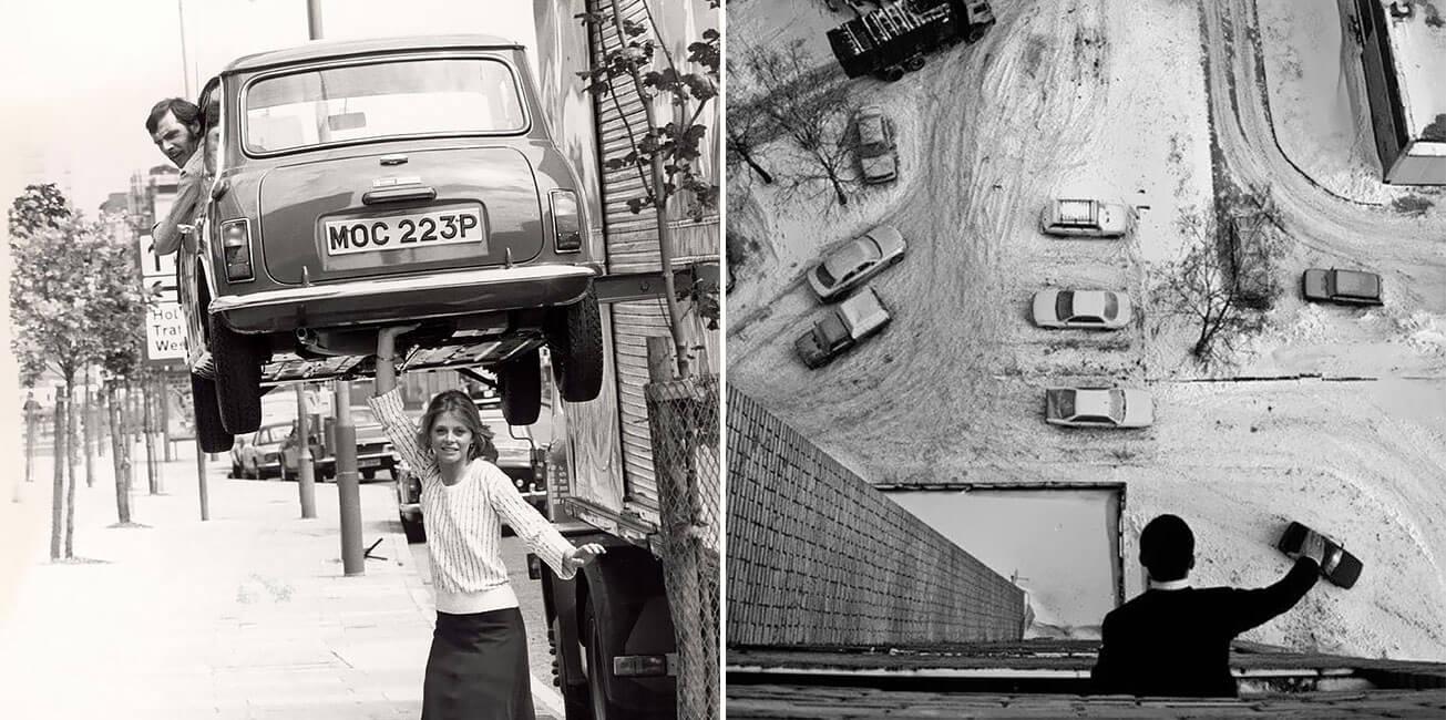 36 fotos antigas que foram tiradas NA HORA CERTA e que parecem montagem