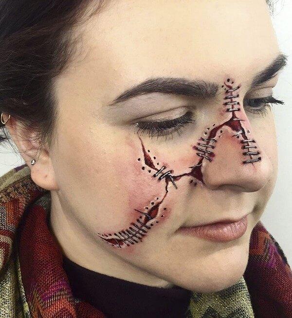 Maquiagem com ilusão de ótica (26)