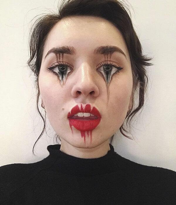 Maquiagem com ilusão de ótica (29)