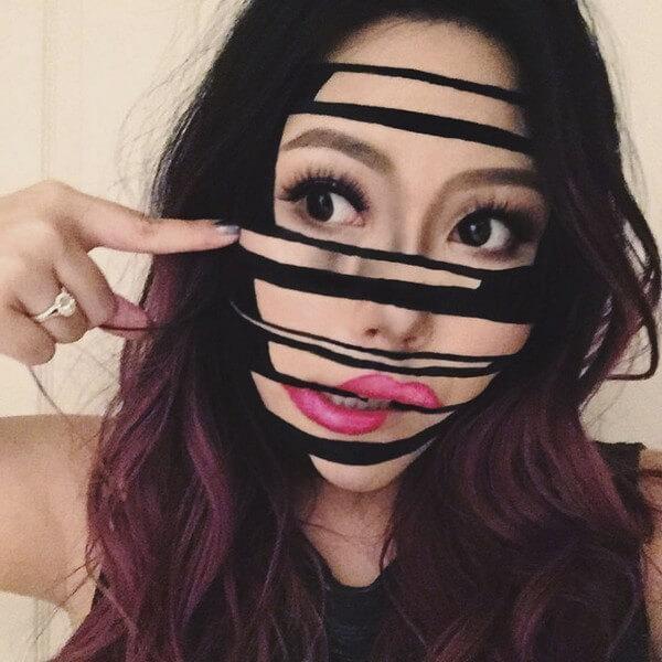 Maquiagem com ilusão de ótica (30)