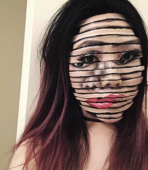 Maquiagem com ilusão de ótica (32)