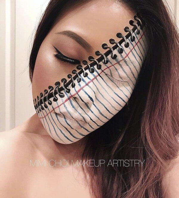 Maquiagem com ilusão de ótica (38)