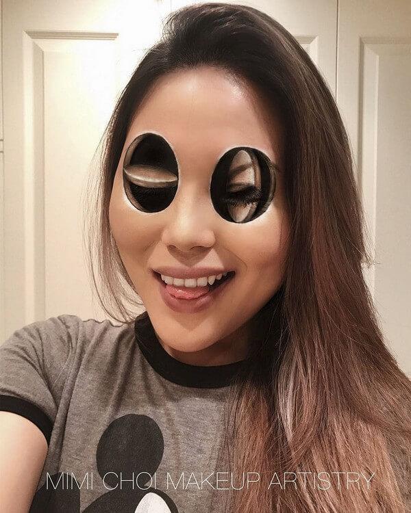 Maquiagem com ilusão de ótica (7)