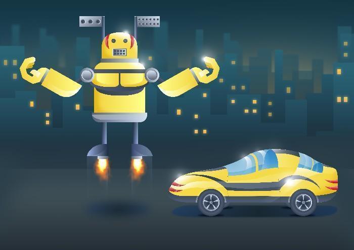 Carros do futuro desenhados por criança 4