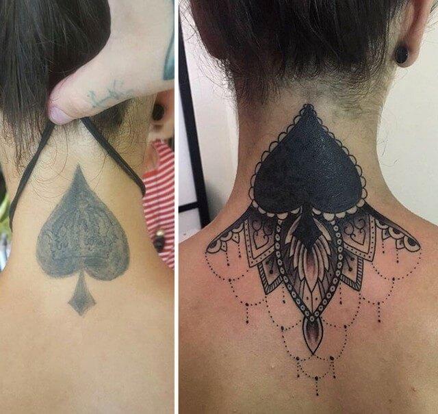 Muito As 28 melhores coberturas de tatuagens de pessoas arrependidas BC45
