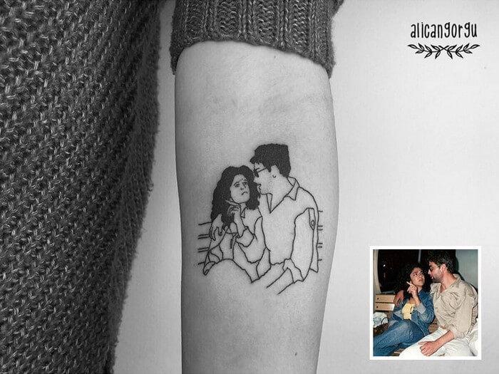 Tatuagem Minimalista (1)
