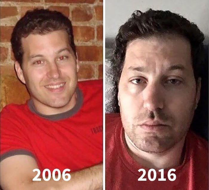 Fisionomia dos pais antes e depois de terem filhos 1