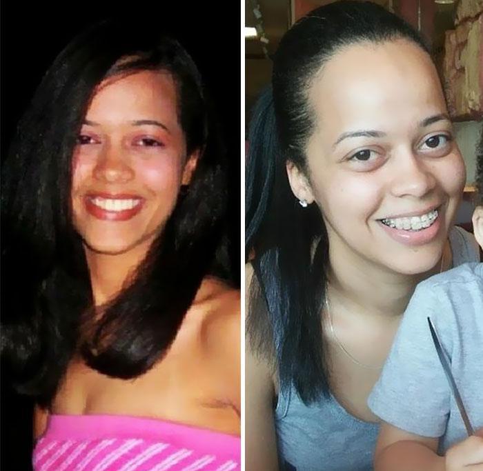 Fisionomia dos pais antes e depois de terem filhos 14