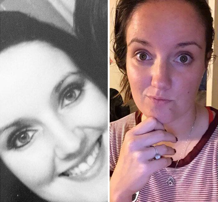 Fisionomia dos pais antes e depois de terem filhos 12