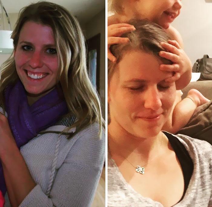 Fisionomia dos pais antes e depois de terem filhos 4