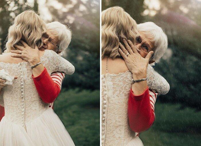 Noiva faz surpresa para avó (6)