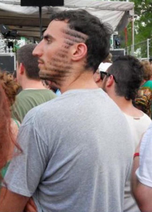 Cortes de barba e cabelo hilários 10
