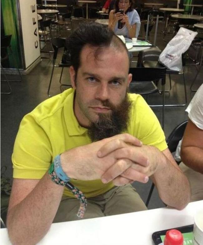 Cortes de barba e cabelo hilários 13
