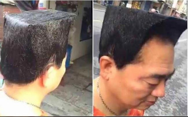 Cortes de barba e cabelo hilários 9