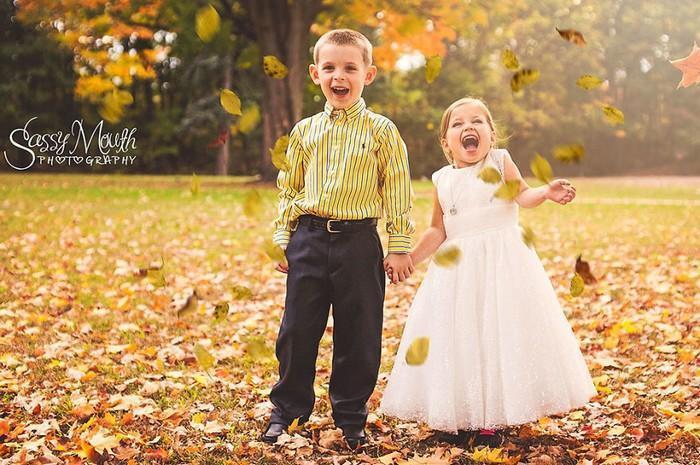 Para ajudar na cirurgia, criança de 5 anos se casa com seu melhor amigo 1