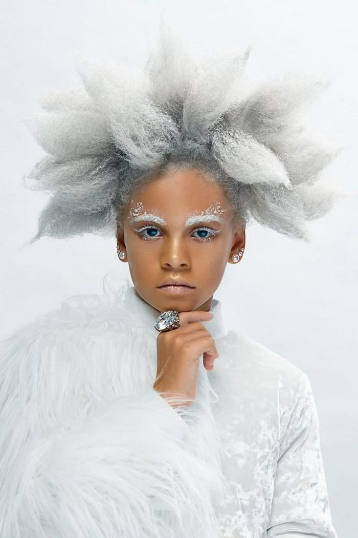 Ensaio fotográfico para ressaltar a beleza do cabelo afro 15