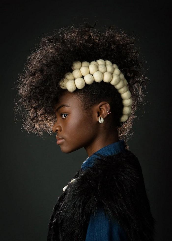 Ensaio fotográfico para ressaltar a beleza do cabelo afro 2
